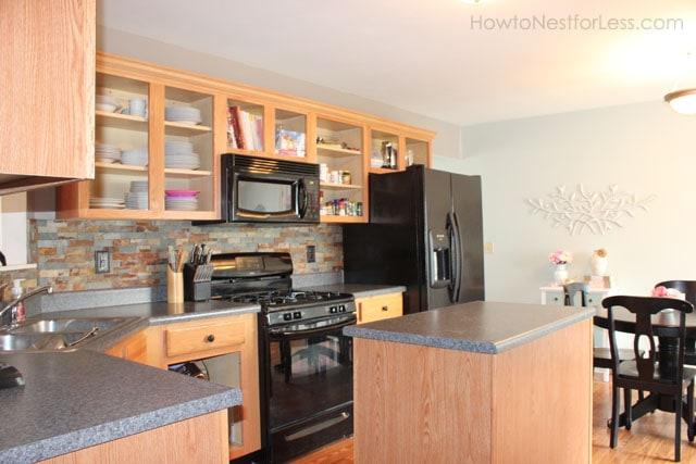Kitchen Cabinets No Doors how to paint your kitchen cabinets - how to nest for less™
