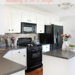 kitchen makeover on a budget