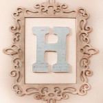 Monogram Wall Art