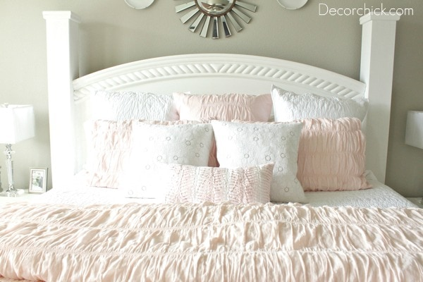 Pink And Gray Bedroom ...