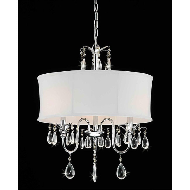 Crystal Chandelier With Drum Shade: Get Inspired: 17 Light Fixtures I Love