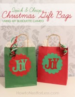 Christmas Gift Bags Ideas.Cheap Christmas Gift Bag Ideas How To Nest For Less