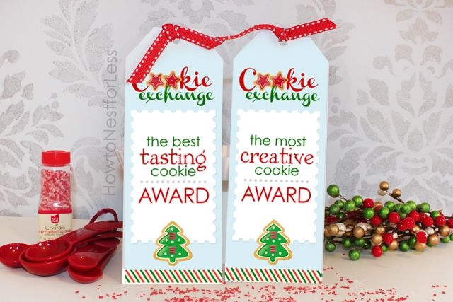 The best tasting cookie award and most creative cookie award.