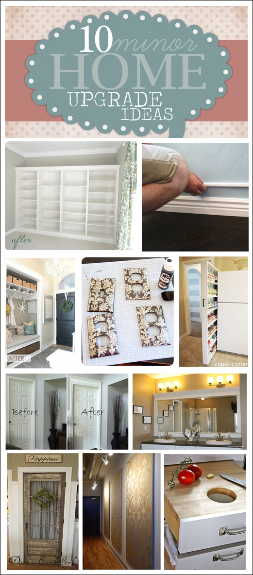Get Inspired 10 Minor Home Upgrade Ideas - How To Nest For Lessu2122