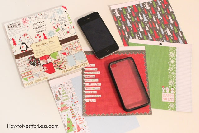 Scrapbook Cover Iphone Cover Supplies How To Nest For Less