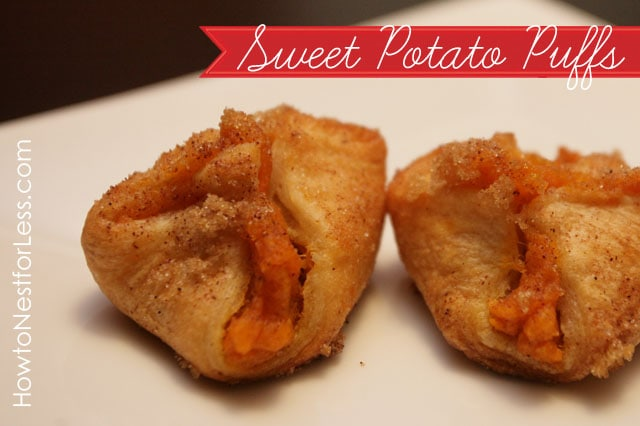 sweet potato puffs recipe