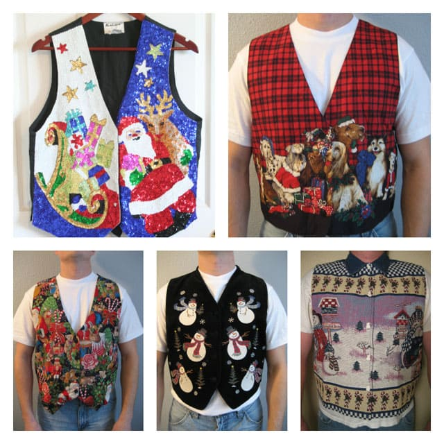 Tacky Treasures: Ugly Christmas Sweaters {and more}