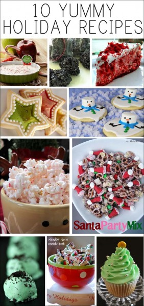 10 yummy holiday recipes