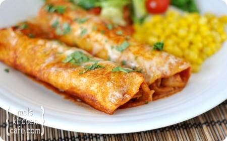 So-Good Chicken Enchiladas