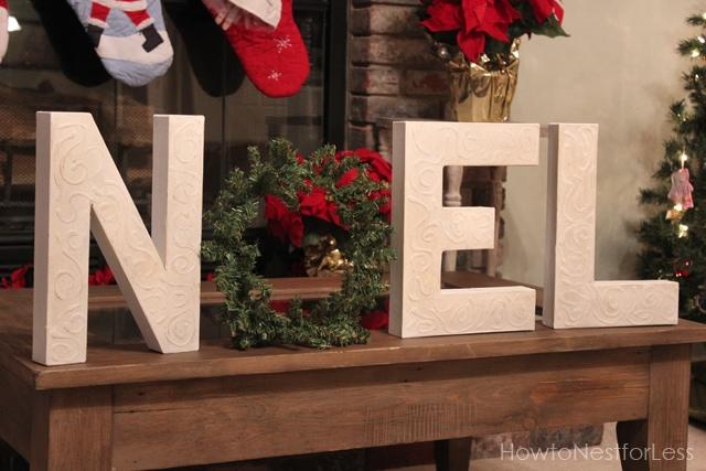 Noel Christmas Letters How To Nest For Less