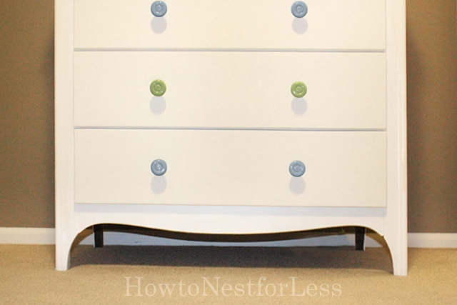 chest of drawers painted makeover