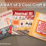 GIVEAWAY of 3 Cool Craft Books!
