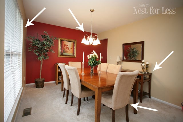 Home goals 2012 where are we now how to nest for less for Dining room color ideas 2012
