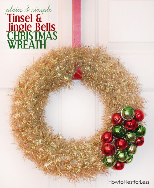 Jingle Bells Wreath - How to Nest for Less™