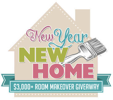 New Year New Home giveaway logo