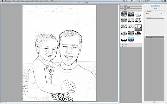 Photoshop Photocopy tutorial