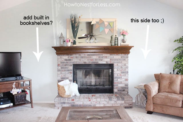 fireplace-mantel-makeover