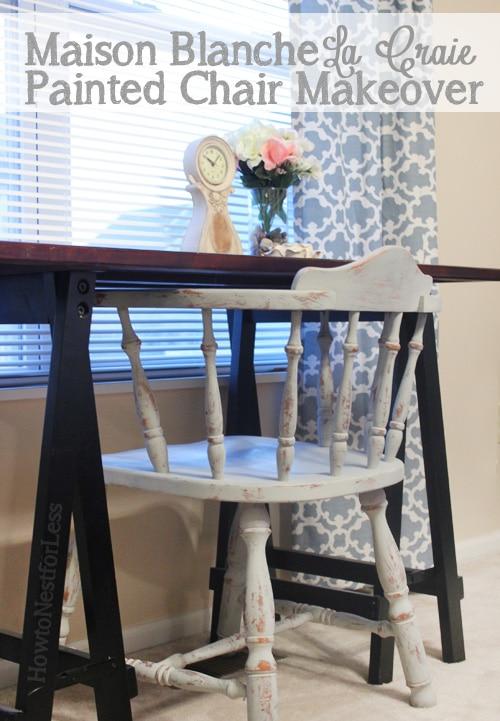 Maison Blanche Chalk Paint Desk Chair