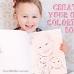 Make Your Own Coloring Book with Family Photos