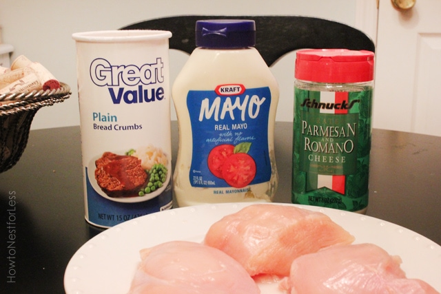 parmesan crusted chicken ingredients