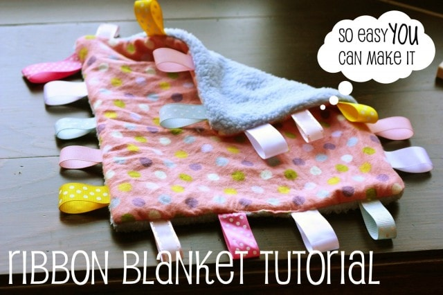 ribbon blanket tutorial