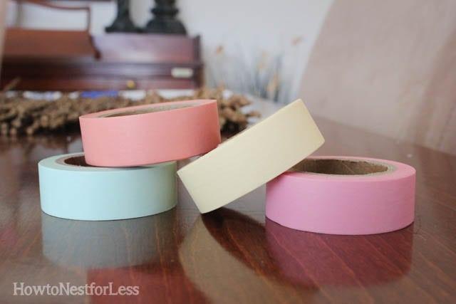 washi tape desk supplies