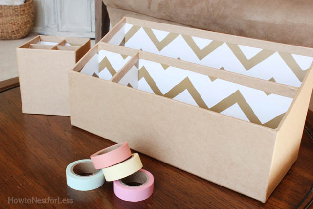 Washi Tape Desk Supplies How To Nest For Less