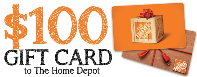 100 home depot gift card