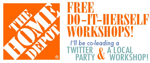 home depot DIH workshops