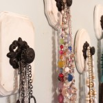 DIY Knob Necklace Holder