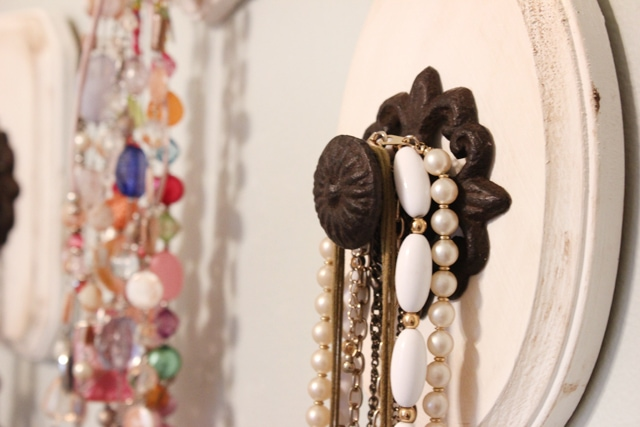 knob necklace jewelry holder