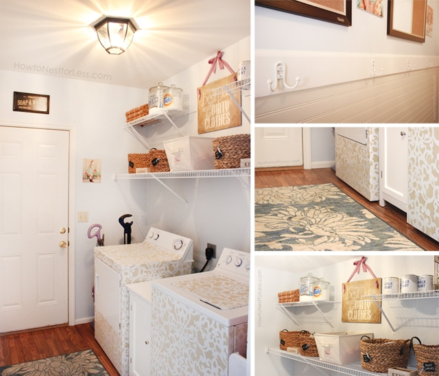 Room Makeovers Endearing With Laundry Room Makeover Photo
