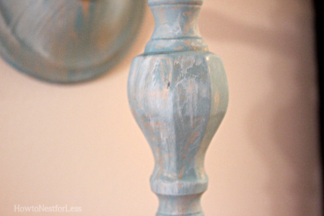 painted sconce candlestick