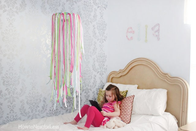 Used Look Möbel Diy ~ Pinterest project: ribbon mobile how to nest for less™