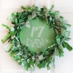 st patricks day countdown wreath