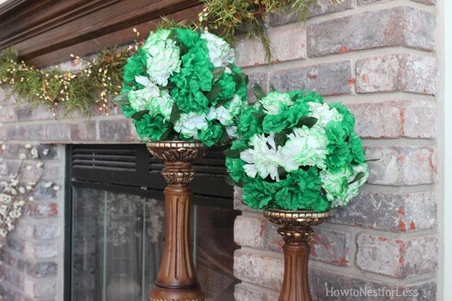 St. Patrick's Day Kissing Balls