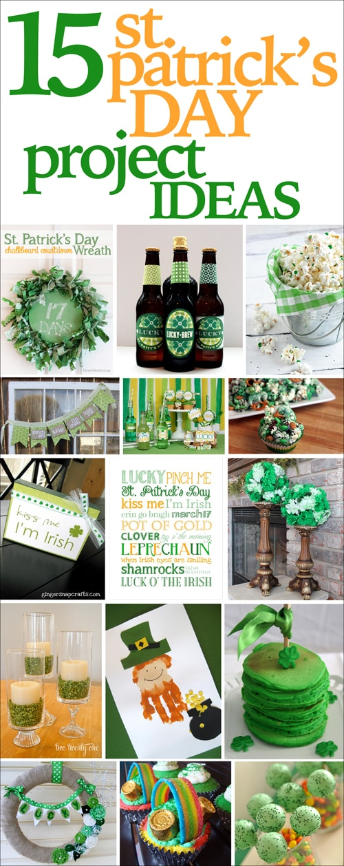 st patricks day project ideas