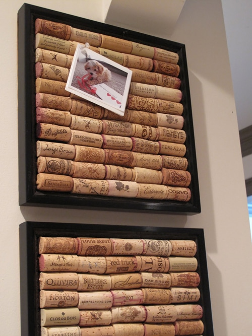 wine cork bulletin boards