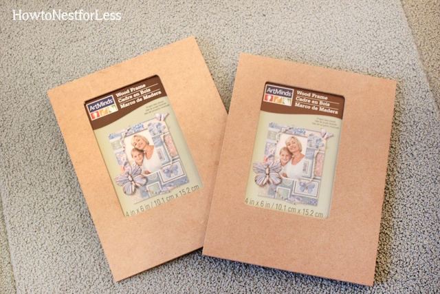 Cheap And Easy Mod Podge Photo Frames How To Nest For Less