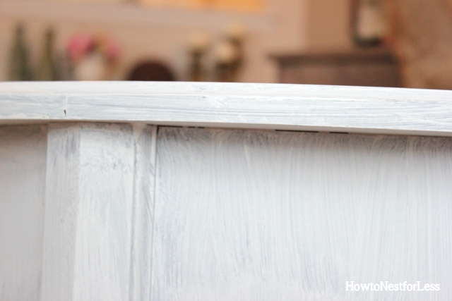 annie sloan chalk paint white table