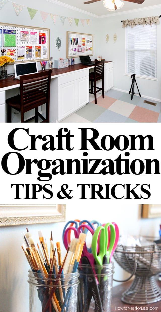 craft room organization craft room organization how to nest for less 1632