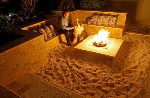 mini beach fire pit
