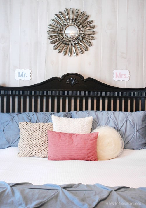 Mr. & Mrs. Bedroom Wood Signs