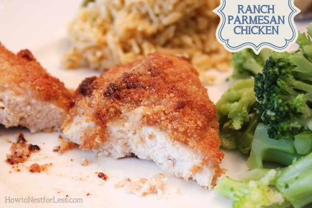 What's Cooking: Ranch Parmesan Chicken