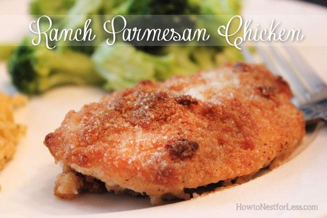 ranch parmesan chicken recipe