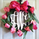 Wood Monogram GIVEAWAY from The Black Sheep!