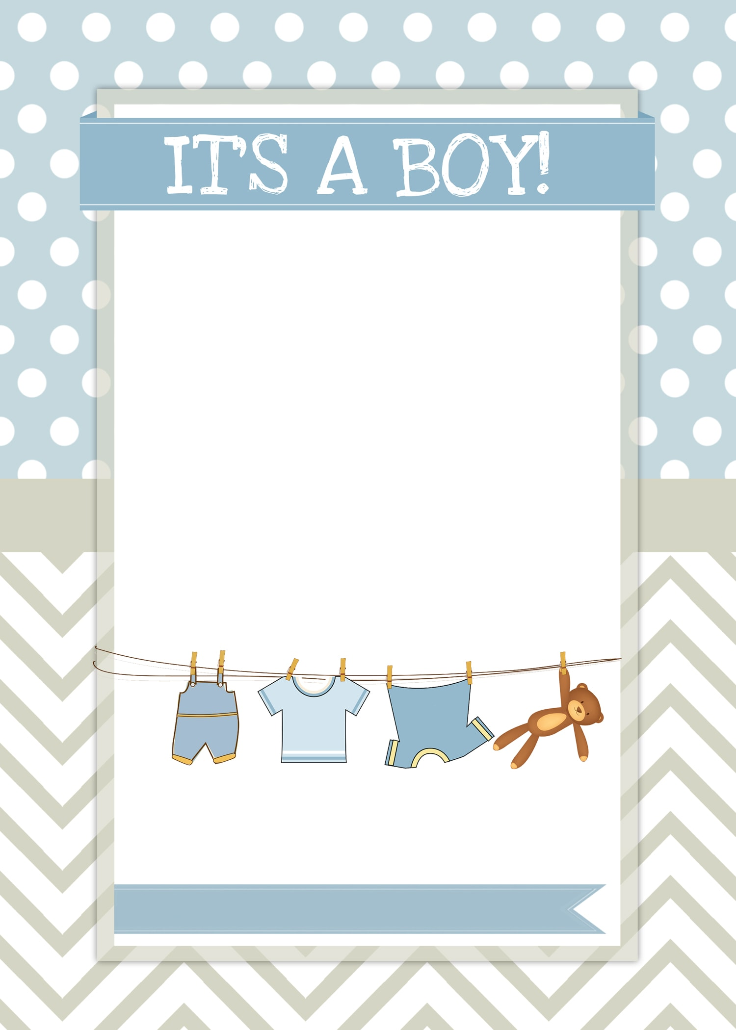 Boy baby shower blank templates filmwisefo