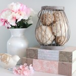 burlap and twine wrapped styrofoam balls