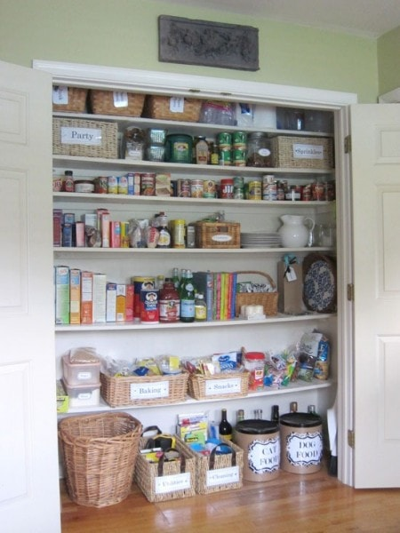 coat closet to pantry