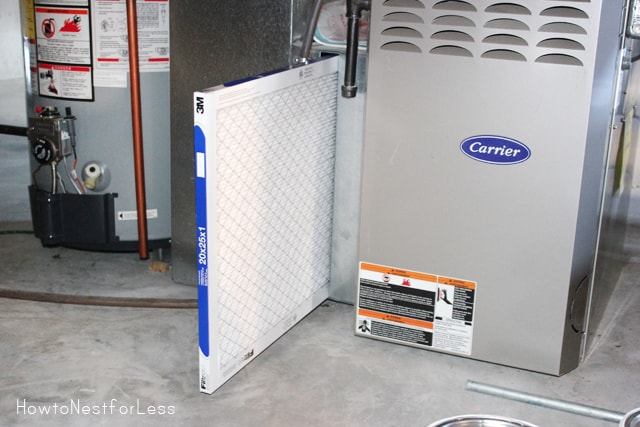 Home maintenance changing your furnace filter how to for Which way to home